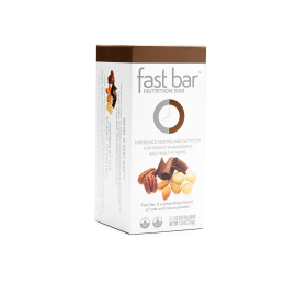 Fast Bars Cocoa Nuts| 5-Pack - Single Box